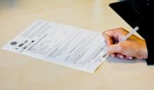 Signature du formulaire de demande de RSA