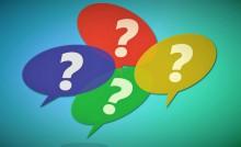 Points d'interrogation, jeunes, renseignements