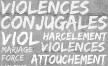 affiche forum violences