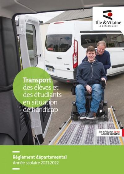 transport des élèves et étudiants en situation de handicap