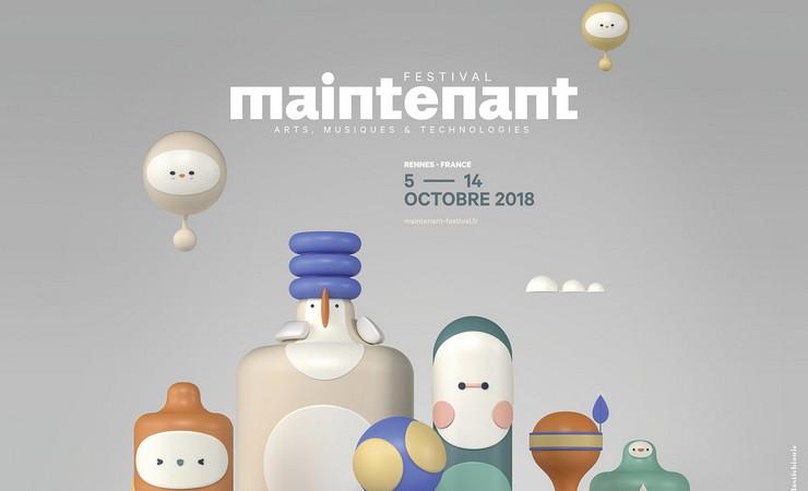 Festival Maintenant 2018 / © Plasticbionic